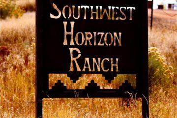 Horizons Ranch sign